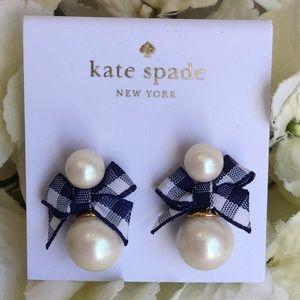 Kate Spade Pretty Pearly Stud Earrings NWT